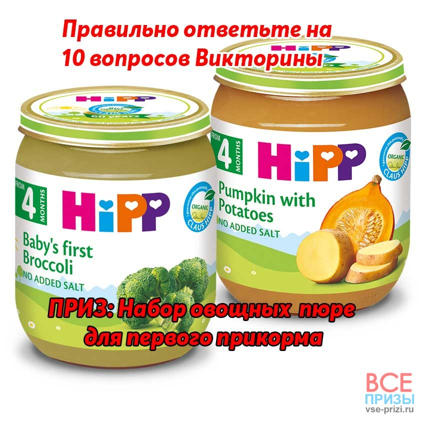 Hipp Викторина