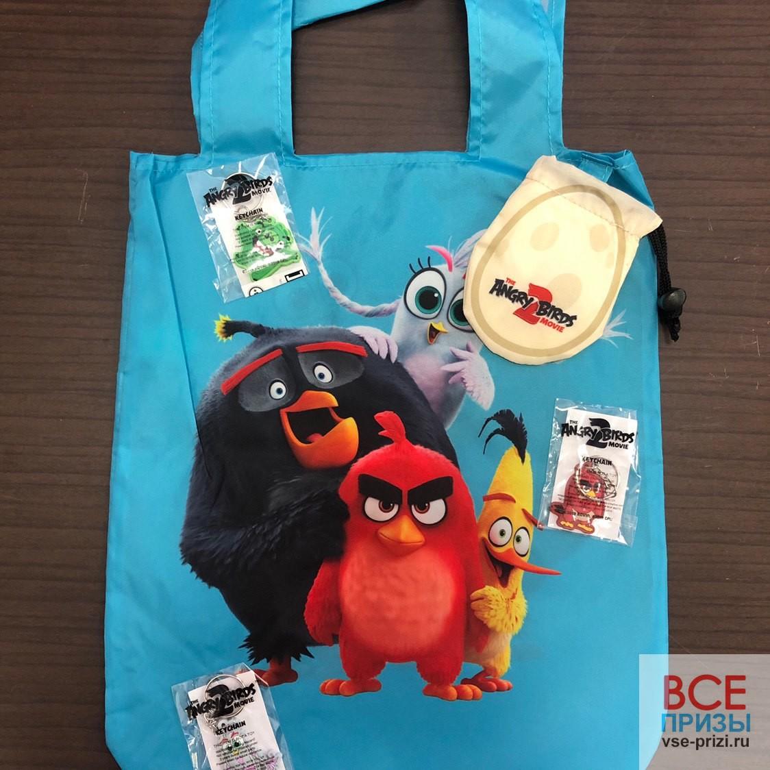 Разыгрываем призы к мультфильму «Angry Birds 2 в кино»