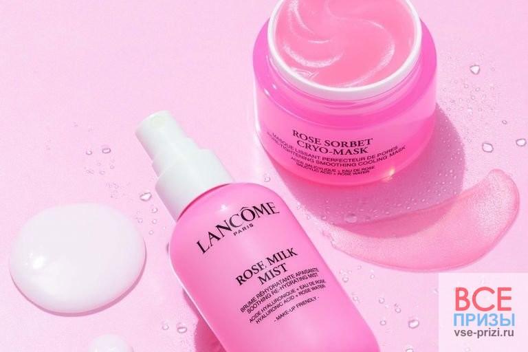 Конкурс от Lancôme: выиграйте набор средств с розовой водой