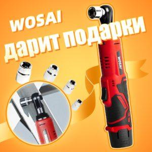 В октябре дарим 3 цепные пилы комплектации WS-DSJ20-C1